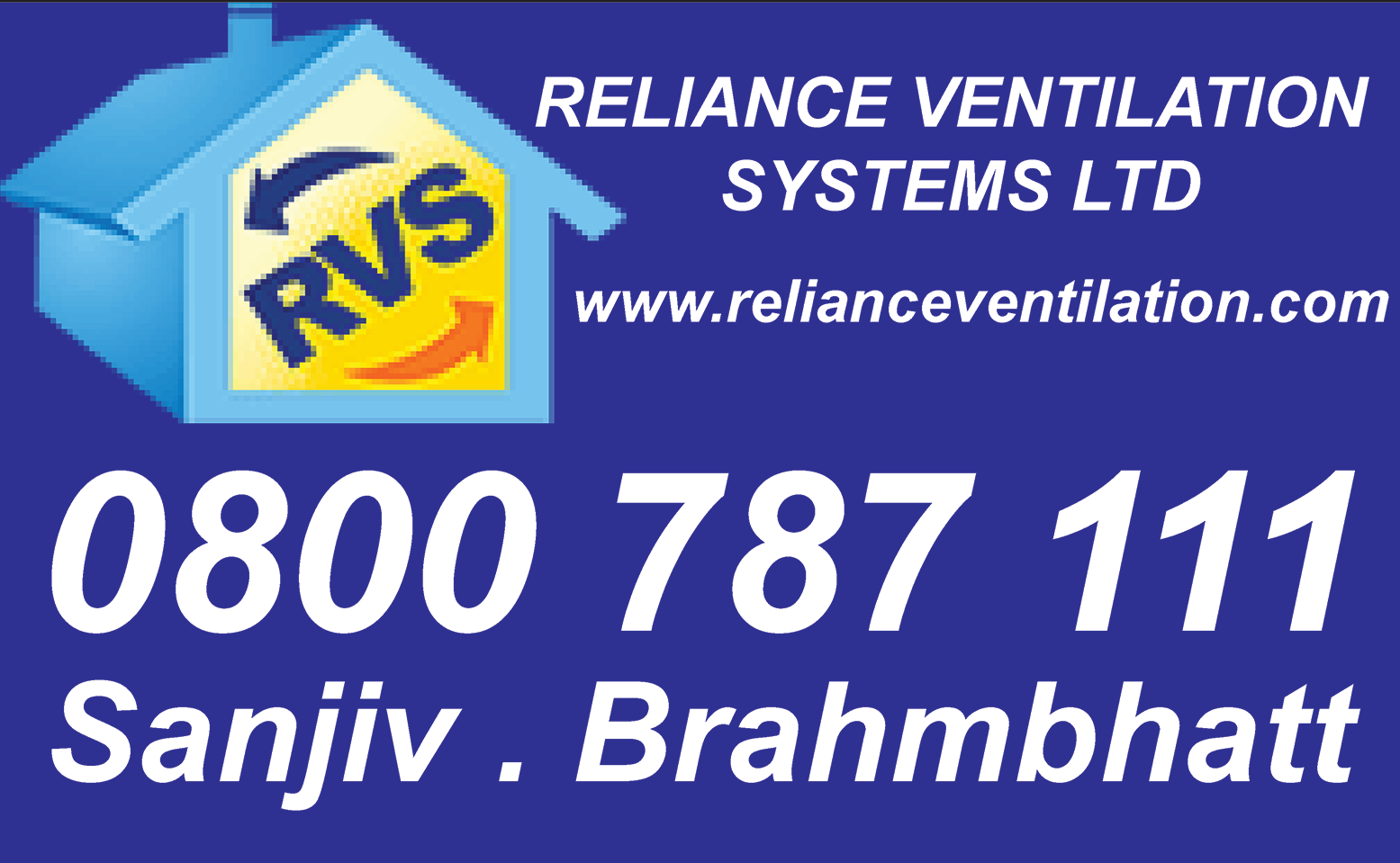 Reliance ventilation systems